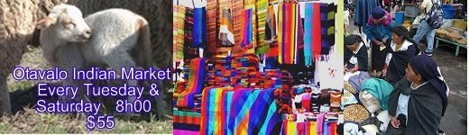 otavalo indian market tours in ecuador