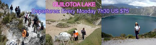quilotoa lake tours ecuador