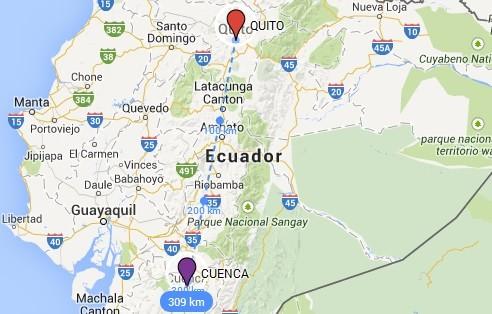 Yunguilla Ecuador Map Cuenca Ecuador Tours   Cuenca City Tour